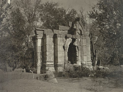 Kashmir. Temple of Sugandheshwara near village of Pathan. View of south face. Probable date A.D. 883 to 901